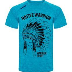 Camiseta-running-native-warrior-azul